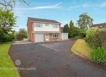 Thumbnail 4 bed detached house for sale in Warrington Road, Culcheth, Warrington