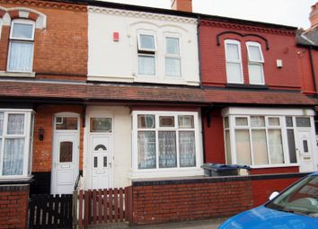 Thumbnail 3 bed terraced house for sale in Osborne Road, Handsworth, Birmingham