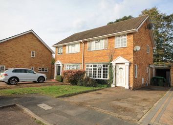 Thumbnail 3 bed semi-detached house for sale in Kingsmead, Frimley Green, Camberley
