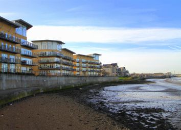 Thumbnail 2 bed flat for sale in Lightermans Way, Greenhithe