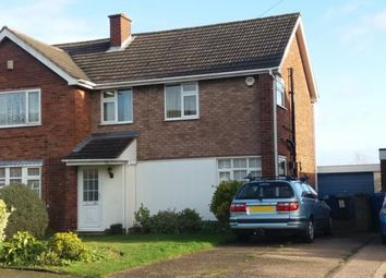 Thumbnail 3 bed semi-detached house for sale in Hudson Drive, Burntwood, Staffordshire