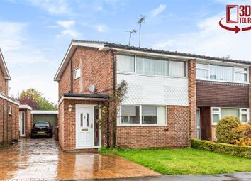 Thumbnail 3 bed semi-detached house for sale in Lyon Road, Crowthorne, Berkshire