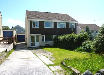 Thumbnail 3 bed semi-detached house for sale in Buddle Close, Ivybridge
