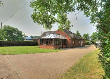 Thumbnail 4 bed detached bungalow for sale in Vicarage Road, Wymondham