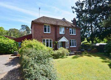 Thumbnail 4 bed detached house for sale in Dene Lane, Lower Bourne, Farnham
