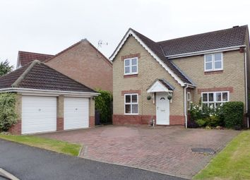 Thumbnail 4 bed detached house for sale in Kenyon Close, Heighington, Lincoln
