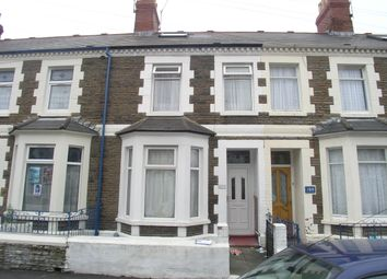 Thumbnail 3 bed terraced house for sale in Arran Street, Roath, Cardiff