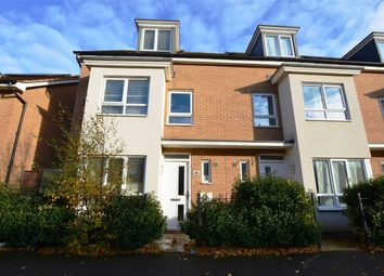 Thumbnail 4 bed end terrace house for sale in Warwick Avenue, Broughton, Milton Keynes