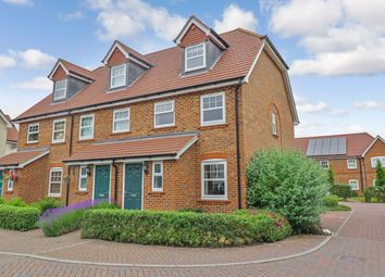 Thumbnail 3 bed end terrace house for sale in Barrowfields Close, West End, Southampton, Hampshire
