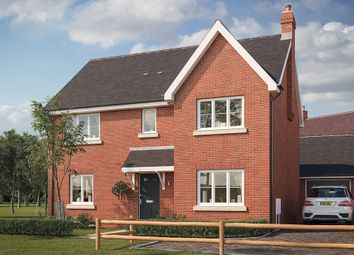 "Thumbnail 4 bed property for sale in ""The Caldwick"" at Buckingham Road, Steeple Claydon, Buckingham"