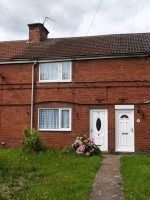 Thumbnail 3 bed terraced house to rent in King Georges Road, New Rossington, Doncaster