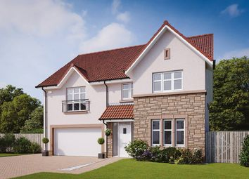 "Thumbnail 5 bed detached house for sale in ""The Lewis"" at Evie Wynd, Newton Mearns, Glasgow"