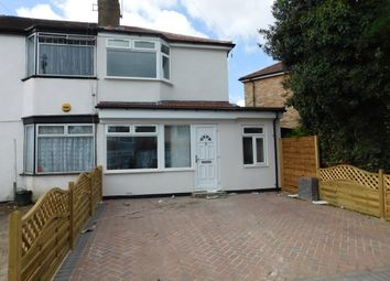 Thumbnail 3 bed semi-detached house for sale in Fredora Avenue, Hayes