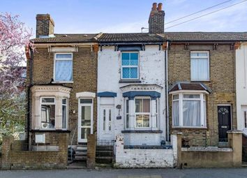 Thumbnail 3 bed terraced house for sale in Richmond Road, Gillingham, Kent, .
