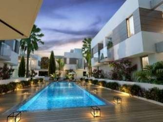 Thumbnail 3 bed villa for sale in Germasogeia, Limassol, Cyprus