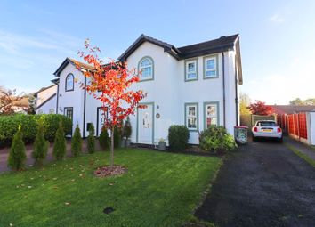 Thumbnail 3 bed semi-detached house for sale in Stonechat Close, Ellenbrook, Worsley
