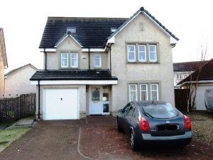 Thumbnail 5 bed detached house to rent in Peasehill Road, Rosyth, Dunfermline