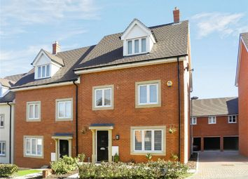 Thumbnail 4 bed semi-detached house for sale in Bushfield Court, Shortstown, Bedford