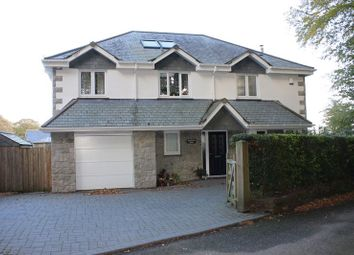 Thumbnail 4 bed detached house for sale in The Drive, Duporth, St Austell