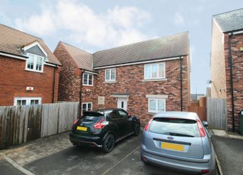 Thumbnail 3 bed semi-detached house for sale in Becks Close, Leicester, Leicestershire