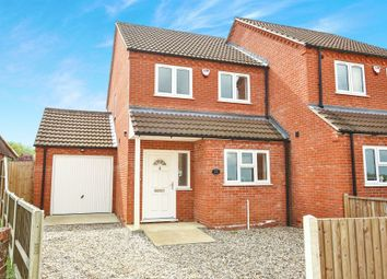 Thumbnail 3 bedroom semi-detached house for sale in Wellington Crescent, Sculthorpe, Fakenham