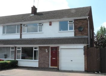 Thumbnail 4 bed semi-detached house for sale in Greenacres Drive, Lutterworth