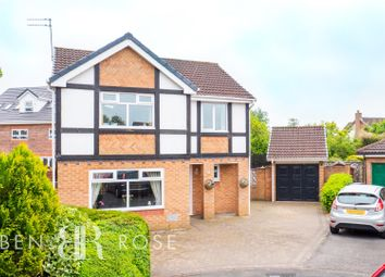 Thumbnail 4 bed detached house for sale in Fossdale Moss, Leyland