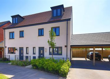 Thumbnail 4 bedroom semi-detached house for sale in Church Road, Old St. Mellons, Cardiff