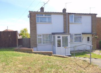 Thumbnail 2 bed semi-detached house to rent in Bells Lane, Hoo, Rochester