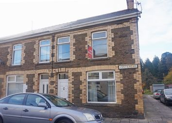 Thumbnail 3 bed end terrace house for sale in Central Street, Ystrad Mynach