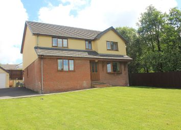 Thumbnail 4 bed detached house for sale in Bryn Mwyn, Gorslas, Llanelli