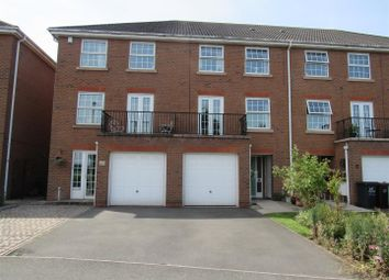 Thumbnail 4 bed terraced house for sale in Jubilee Close, Syston, Leicester