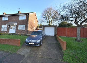 Thumbnail 5 bed semi-detached house for sale in Forest Row, Shephalbury Park, Stevenage, Herts