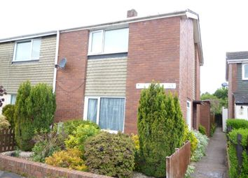 Thumbnail 2 bed end terrace house to rent in Shapland Place, Tiverton