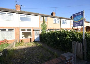 Thumbnail 2 bed terraced house to rent in Meadowbank Road, Hull