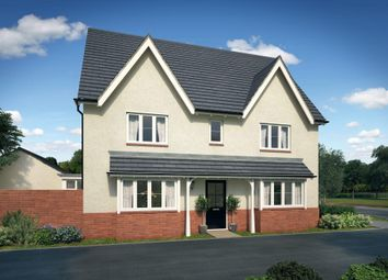 "Thumbnail 4 bedroom detached house for sale in ""Cornell"" at William Morris Way, Tadpole Garden Village, Swindon"