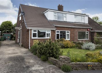 Thumbnail 3 bed semi-detached house for sale in Meadow Close, Liversedge, West Yorkshire