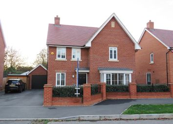 Thumbnail 4 bed detached house for sale in Gold Furlong, Marston Moretaine, Bedford
