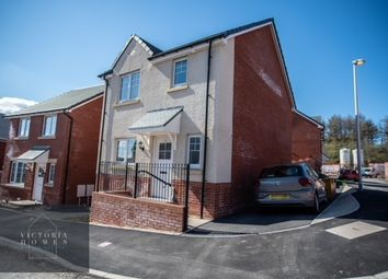 Thumbnail 3 bed detached house for sale in Blue Lake Close, Ebbw Vale
