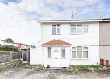 Thumbnail 3 bedroom end terrace house for sale in Bearing Way, Chigwell