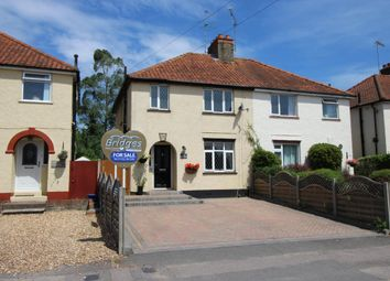 Thumbnail 3 bed semi-detached house for sale in Weybourne Road, Aldershot