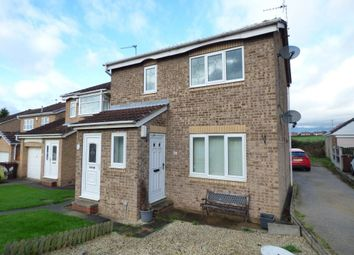 Thumbnail 1 bed flat to rent in Vicarage Gardens, Featherstone, Pontefract
