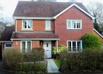 Thumbnail 4 bedroom detached house for sale in Lapwing Way, Four Marks, Hampshire