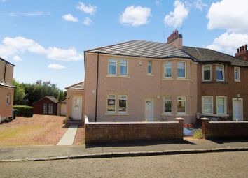 Thumbnail 2 bed flat for sale in Braedale Avenue, Motherwell