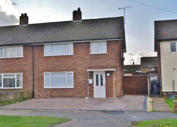 Thumbnail 3 bed semi-detached house for sale in Coronation Drive, Felixstowe