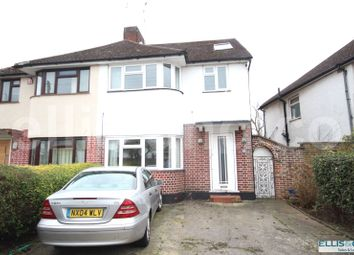 Thumbnail 4 bed semi-detached house to rent in Oakhampton Road, Mill Hill, London