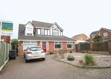 Thumbnail 4 bed detached house for sale in Carnoustie Close, Moreton, Wirral