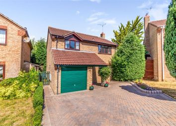 Thumbnail 4 bed detached house for sale in Shropshire Close, Shaw, Swindon, Wiltshire