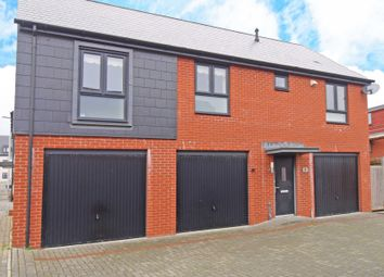 Thumbnail 2 bed maisonette to rent in Old Quarry Drive, Exminster, Exeter