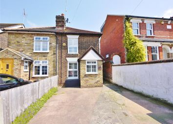 Thumbnail 2 bed semi-detached house for sale in Junction Road, Warley, Brentwood, Essex